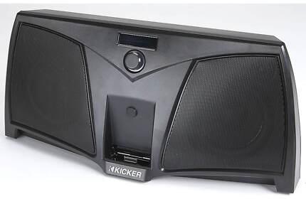 KICKER IPOD IPHONE DOCK IK501 BIG SOUND In excellent condition