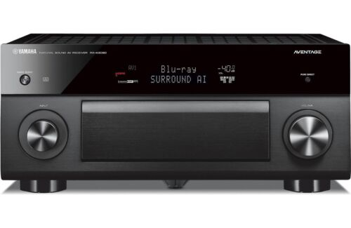 Yamaha AVENTAGE 9.2-Ch. Bluetooth Capable 4K Ultra HD HDR Compatible A/V Home Theater Receiver with Amazon Alexa Built-in Black RX-A3080BL