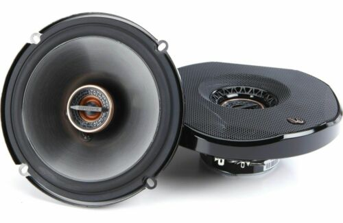 """AUTHENTIC Infinity REF-6532eX 6.5"""" 2 Way 165 Wts Shallow Car Speakers Fits 6.75"""""""