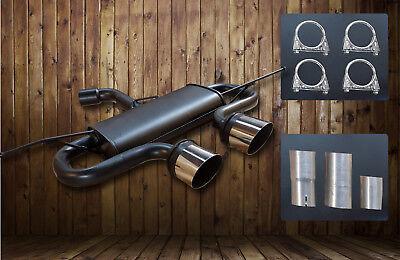 R32 Look Sportauspuff passend für VW Golf 5 6 Auspuff Endschalldämpfer Duplex. gebraucht kaufen  Melle