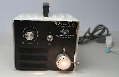 Dolan Jenner Fiber-lite High Intensity Illuminator Series 180 Light Source Great