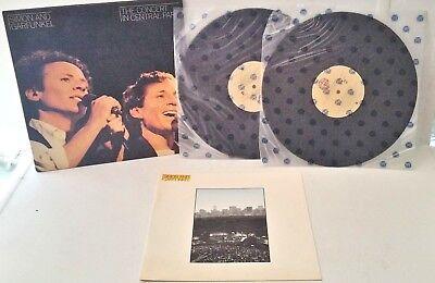 "Record - Simon & Garfunkel ""The Concert in Central Park"" 2 LP's & Booklet EX/NM"