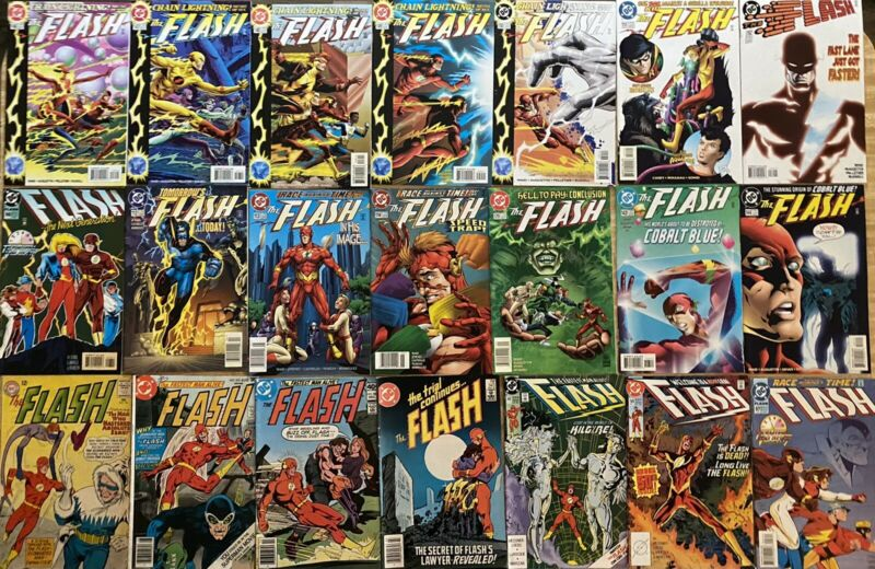 THE FLASH - 66 COMICS - 1ST 2ND 3RD SERIES NEW 52 FLASHPOINT