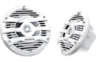Kenwood 6 5  2 Way Coaxial Marine Speakers With 300W Max Power Kfc 1653Mrw