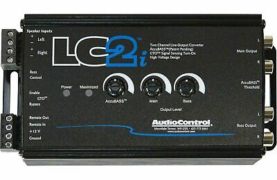 AudioControl LC2i, 2 Channel Line-Output Converter with AccuBASS