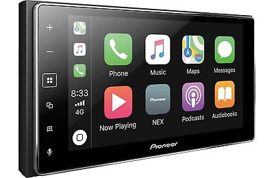 "Pioneer MVH-1400NEX 2 DIN Digital Media Player 6.2"" Bluetooth CarPlay Spotify"