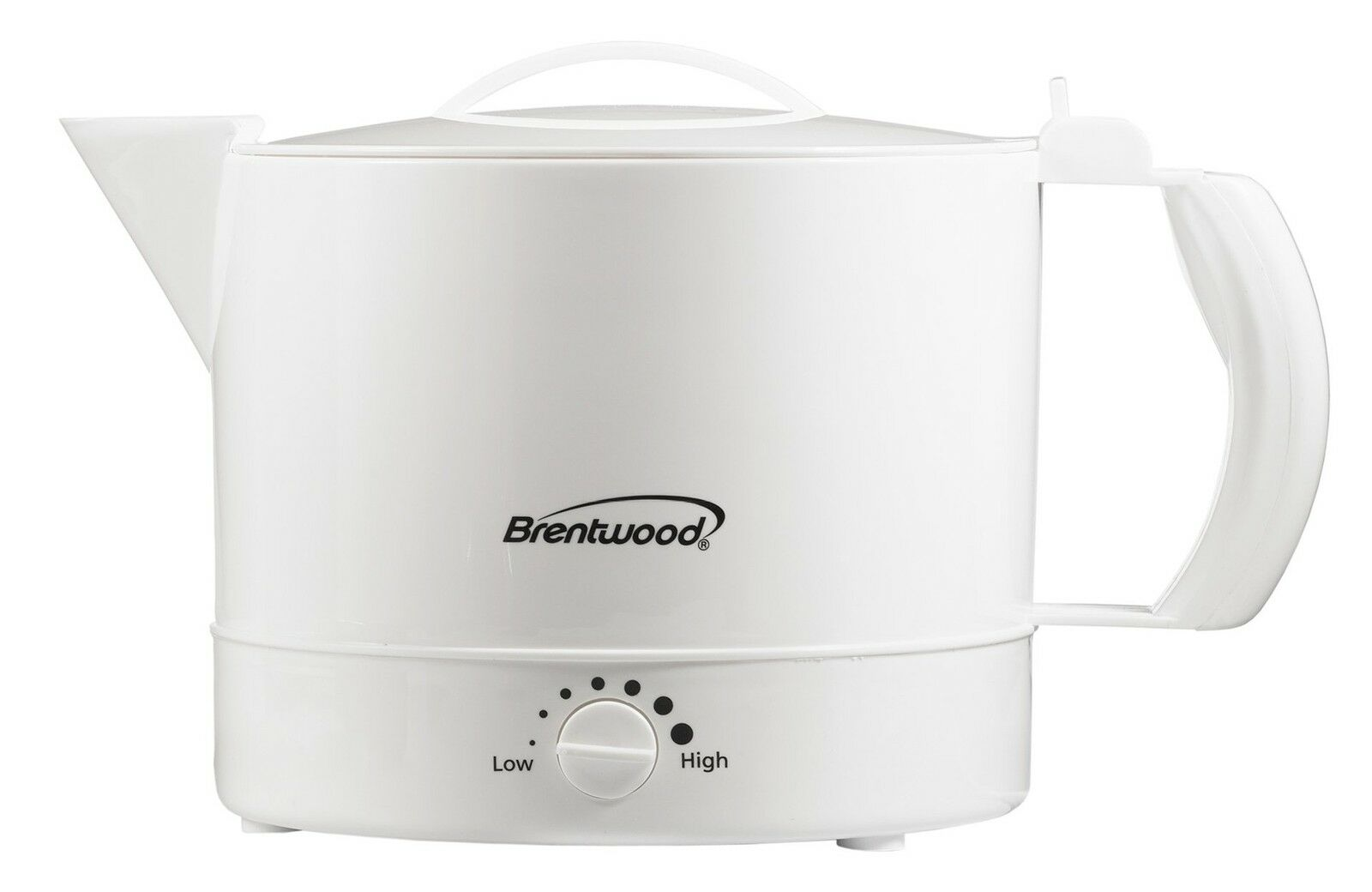 Brentwood KT-32W Plastic Hot Pot 32-Ounce Water Kitchen Tea
