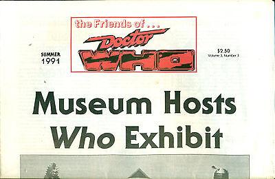 THE FRIENDS OF...DOCTOR WHO Summer 1991 tabloid newspaper fanzine