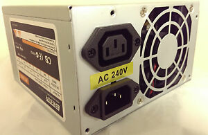500W ATX Power Supply P4 / AMD 24&20pin, 2 x SATA inc. 450W / 400W / 350W