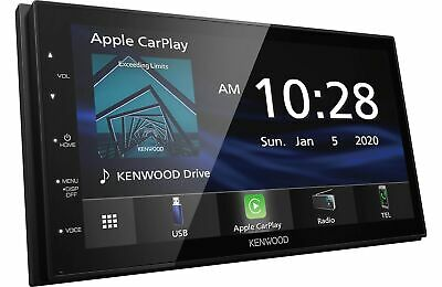 Kenwood DMX4707S Digital Multimedia Receiver w/CarPlay & Android Auto