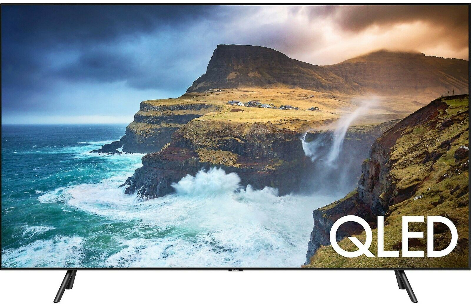 """Samsung QN65Q70R 2019 65"""" Smart QLED 4K Ultra HD TV with HDR Q LED QN65Q70RAFXZA"""