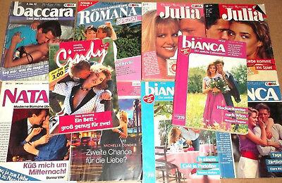 10 Coraromane - Serien wie Baccara Romana Julia Bianca ... - Taschenhefte po028