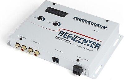 Audio Control Epicenter Digital Bass Restoration Processor Enhacer White - Bass Restoration Signal Processor