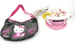 Sanrio Hello Kitty Teacup AM/FM Radio Digital Alarm Clock w/Night Light HK155