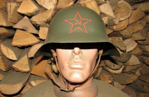 """Original-Authentic WW2 WWII Relic Soviet Red Army helmet """" CШ 36 Halgingolka""""#16"""