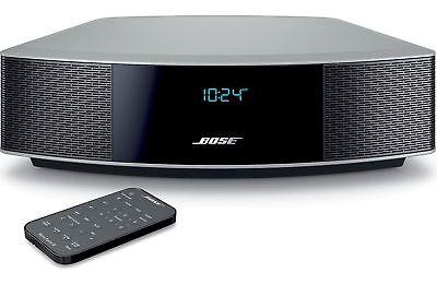 Bose Wave Radio IV - Platinum Silver - Factory Renewed - Unopened  No CD