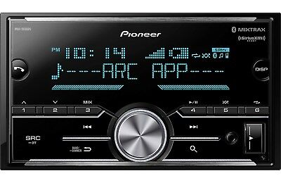 NEW Pioneer MVH-S600BS Double DIN MP3/WMA Digital Media Player Bluetooth MIXTRAX
