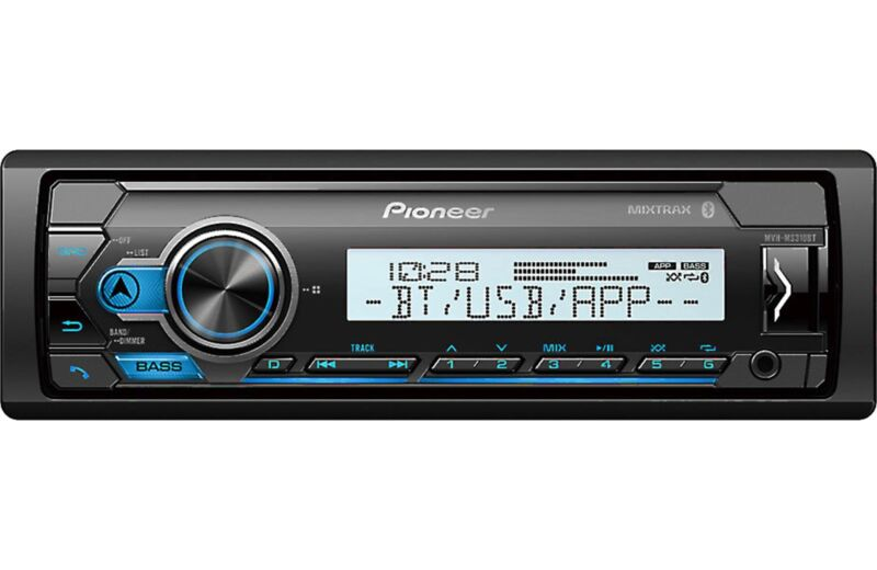 Pioneer MVH-MS310BT Marine Digital Media Receiver with Bluetooth (Does NOT Play