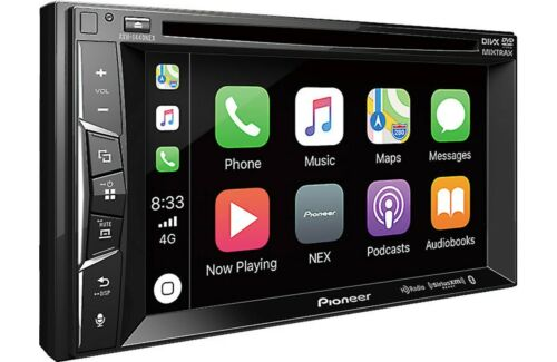 Pioneer AVH-1400NEX RB 2 DIN DVD/CD Player Bluetooth HD Radio CarPlay SiriusXM
