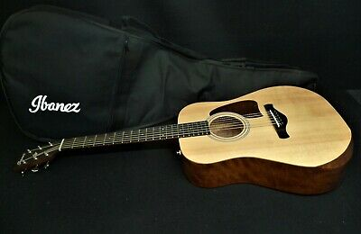 Ibanez AW50JR-OPN ARTWOOD SOLID SPRUCE Top MINI DREADNOUGHT Guitar & GIG BAG