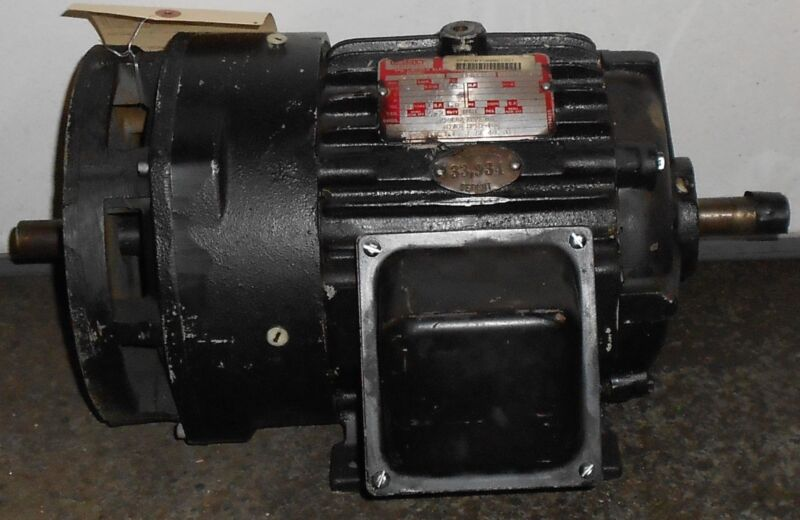 Reman - Lincoln Electric 1.5 HP Electric Motor 1145 RPM 11527WT
