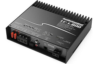 AudioControl LC-1.800 Mono subwoofer amplifier — 800 watts RMS at 2 ohms, usado comprar usado  Enviando para Brazil
