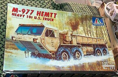 Oshkosh M-977 HEMTT Heavy 10t US cargo truck Italeri 292 1:35 FREE USA SHIP