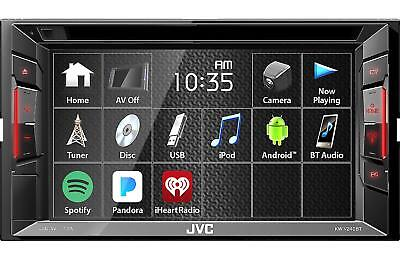 kw v240bt 6 2 double din bluetooth