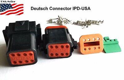 8-pin Deutsch Dt08 Engine Gearbox Waterproof Electrical Connector