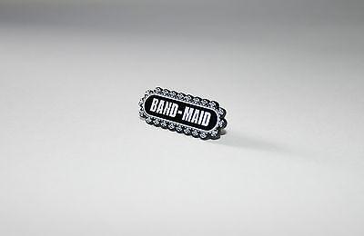 BAND-MAID Logo Metal Pin Badge + FREE UK P&P