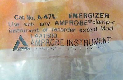 Amprobe A-47l Energizer Clamp-c Meter Splitter Test Leads A 47c