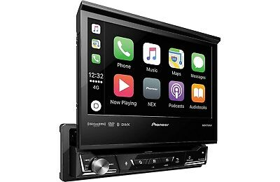 "Pioneer AVH-3300NEX 1 DIN DVD/CD/MP3 Player 7"" Flip Up Bluetooth Mirror Phone"