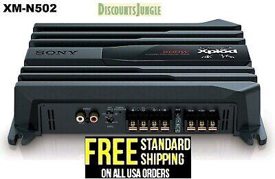 Sony XM-N502 2/1 Channel 500 Watt Class-AB Car Stereo Amplifier Speaker Sub Amp