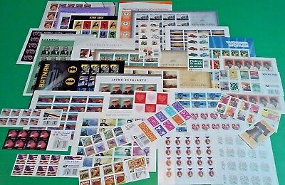 Mint 160 Assorted Mixed Designs FOREVER US PS Postage STAMPS. Face Value $ 80.00