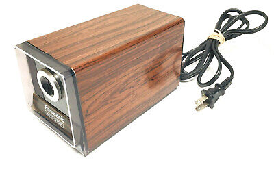 Panasonic Kp-120 Electric Wood Pencil Sharpener Auto Stop Made In Japan Vintage