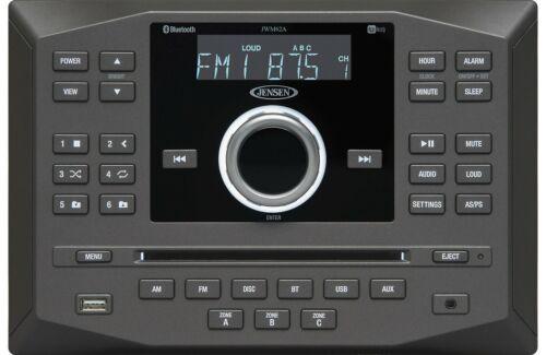 Jensen JWM62A Wallmount DVD/USB/Bluetooth RV Receiver BRAND NEW Remote Radio