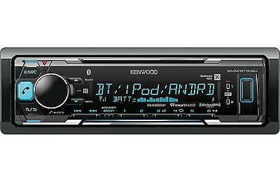 $83.35 - KENWOOD KMM-BT318U MP3/USB/FM BLUETOOTH CAR STEREO DIGITAL MEDIA RECEIVER