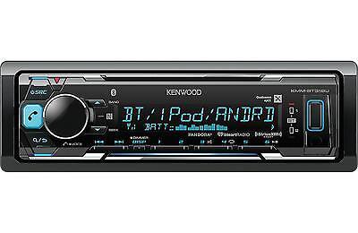 $89.94 - KENWOOD KMM-BT318U MP3/USB/FM BLUETOOTH CAR STEREO DIGITAL MEDIA RECEIVER