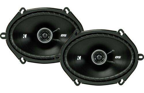 "Kicker DS Series 6x8"" 2-Way Car Speakers *43DSC6804"