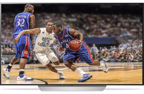"""LG 65"""" Class (64.5"""" Diag.) OLED 2160p Smart 4K Ultra HD TV with High Dynamic Range Silver OLED65C7P"""