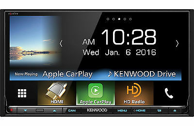 KENWOOD DDX-9903S D-DIN APPLE CAR PLAY ANDROID AUTO