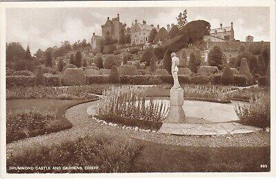 Drummond Castle & Gardens, Nr CRIEFF, Perthshire