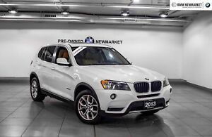 2013 BMW X3 Xdrive28i Tech PKG| Pano Sunroof| Rear CAM|