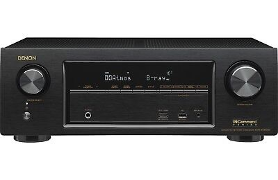 DENON AVRX1300W 7.2 RECEIVER w/Wi-Fi, BT, AirPlay, and Atmos - AUTHORIZED DEALER
