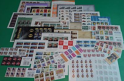New / Mint 220 Assorted Mixed Designs FOREVER US PS Postage Stamps. FV $ 110.00