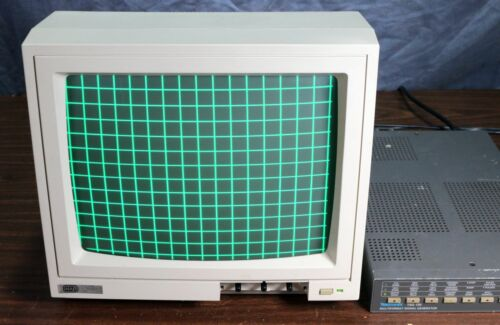 NAP Consumer electronics Vintage NTSC Composite Green Video Computer Monitor