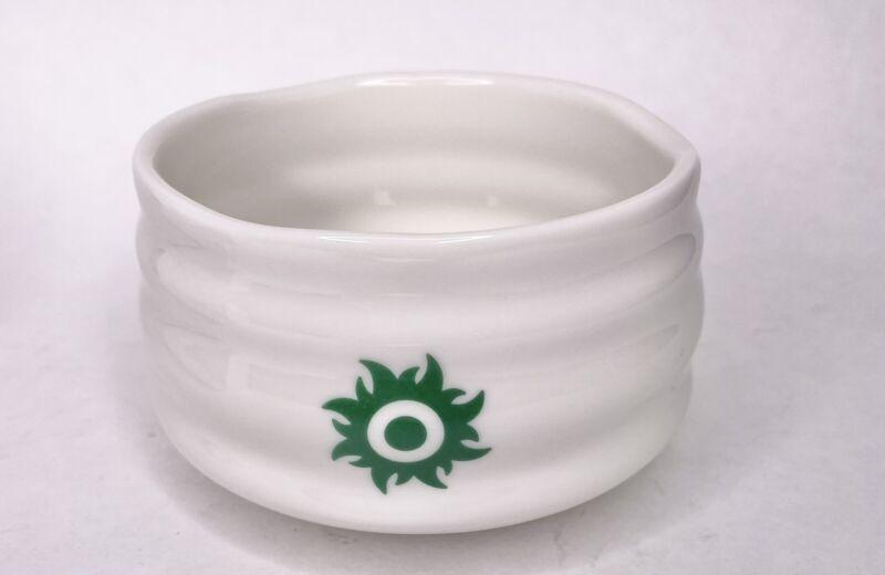 "Tenzo Tea White Green Japanese 4.5""D Matcha Bowl Tea Ceramic"
