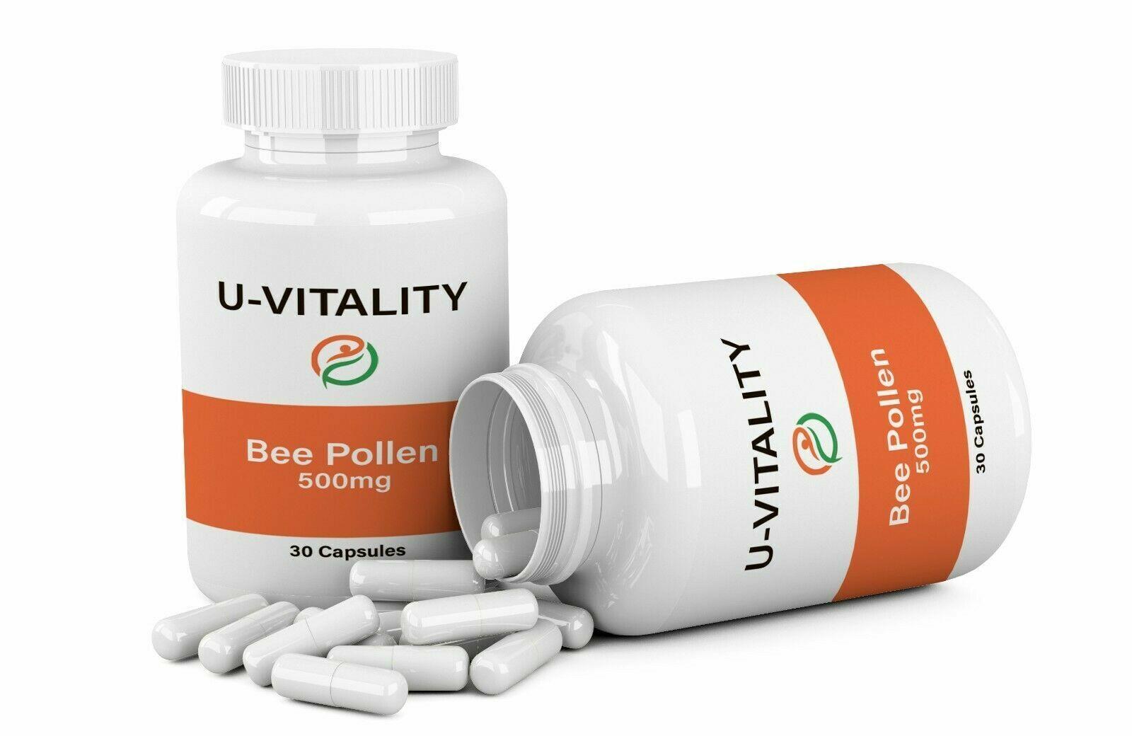 Buy 2 get 1 FREE - Bee Pollen Complex 1000 mg  Vit A,C,E. M