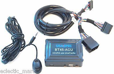 USA Spec BT45-ACU 2005-2009 Acura Plug & Play Bluetooth, USB, AUX + Live Traffic
