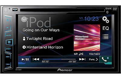 """Pioneer AVH-280BT DVD Receiver with 6.2"""" Display and Built in Bluetooth AVH280BT"""
